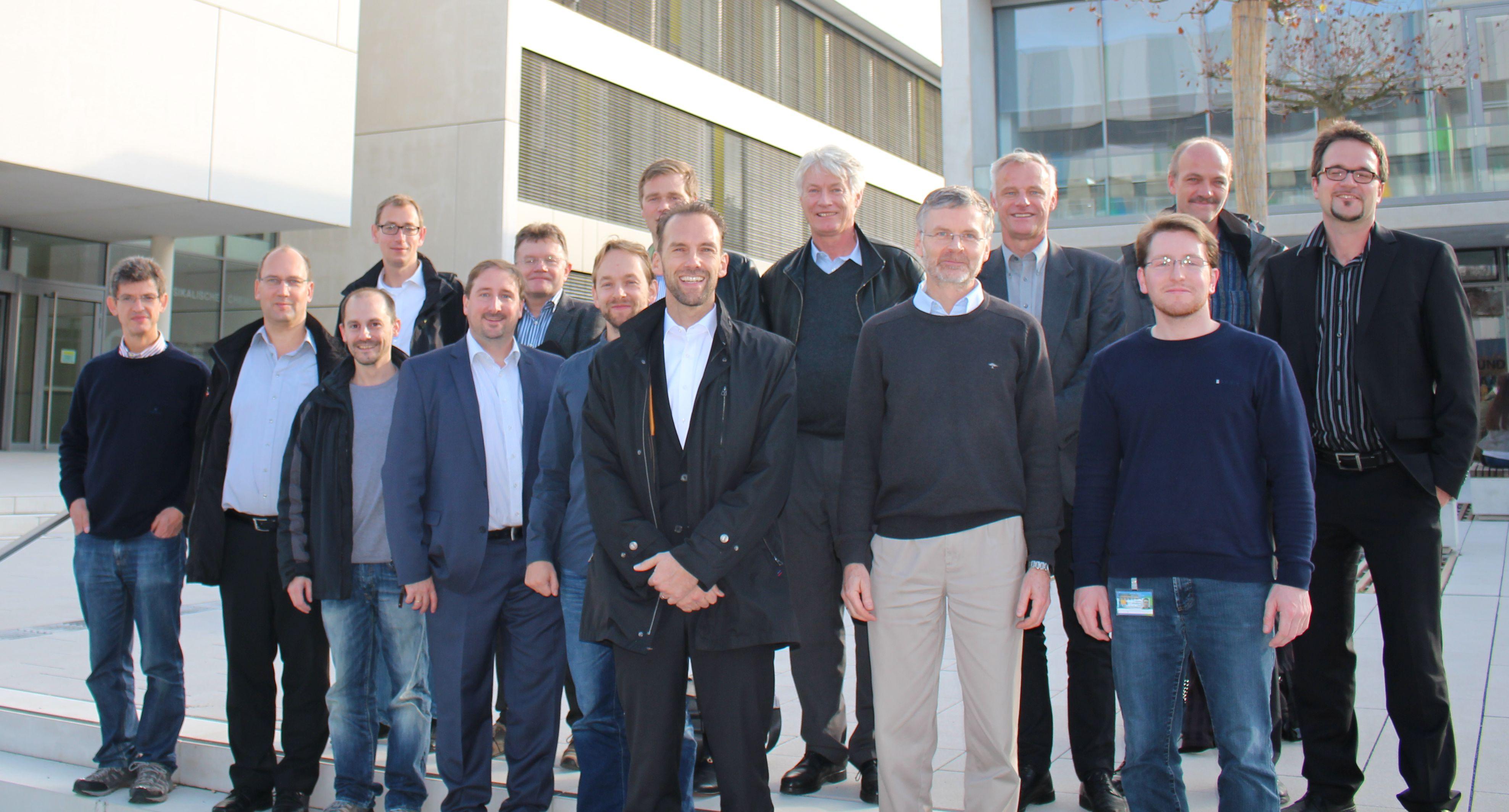 Teilnehmer der JHV 2015